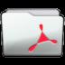 Folder Adobe Acrobat Icon 72x72 png
