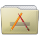 Beige Folder Apps Icon 80x80 png