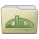 Beige Folder Deviations Icon 80x80 png