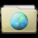 Beige Folder Sites Icon 80x80 png