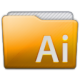 Folder Adobe Illustrator Icon 80x80 png