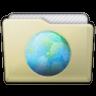Beige Folder Sites Icon 96x96 png