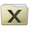 Beige Folder System Icon 96x96 png
