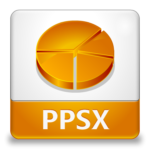PPSX File Icon 512x512 png