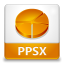 PPSX File Icon 64x64 png