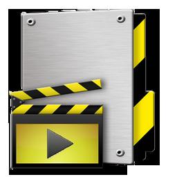 Folder Videos Icon 256x256 png