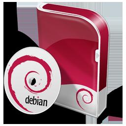 Box Debian Disc Icon 256x256 png