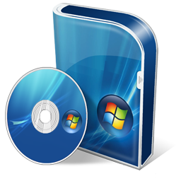 Box Vista Business Disc Icon 256x256 png