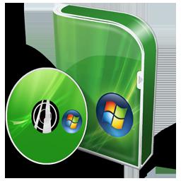 Box Vista Home Premium Disc Icon 256x256 png