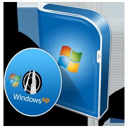 Box WinXP Professionnel Disc Icon 256x256 png