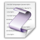 Mimetypes Application X Javascript Icon
