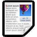 Mimetypes Application X MS Write Icon