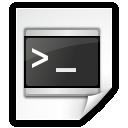 Mimetypes Application X Shellscript Icon