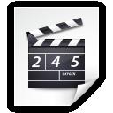 Mimetypes Video QuickTime Icon