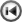 Actions Media Skip Backward Icon 22x22 png