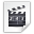 Mimetypes Application X Mplayer2 Icon 32x32 png