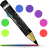 Actions Format Stroke Color Icon