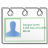 Actions View Pim Contacts Icon 48x48 png