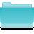 Filesystems Folder Cyan Icon 48x48 png
