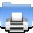 Filesystems Folder Print Icon 48x48 png