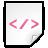 Mimetypes XML Icon 48x48 png