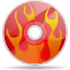 Actions Tools Media Optical Burn Icon 64x64 png
