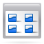 Actions View Multicolumn Icon 64x64 png