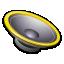 Apps Preferences Desktop Sound Icon 64x64 png