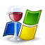 Apps Wine Doors Icon 64x64 png