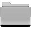 Filesystems Folder Grey Icon 64x64 png