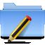 Filesystems Folder TXT Icon 64x64 png