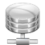 Filesystems Network Server Database Icon 64x64 png