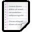 Mimetypes Application RTF Icon 64x64 png