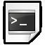 Mimetypes Application X Shellscript Icon 64x64 png