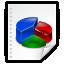 Mimetypes KChart CHRT Icon 64x64 png