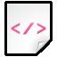 Mimetypes XML Icon 64x64 png