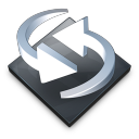 Settings Backup Sync Icon 128x128 png