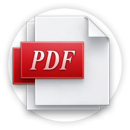PDF Viewer Icon 256x256 png