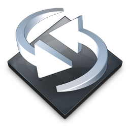 Settings Backup Sync Icon 256x256 png