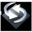 Settings Backup Sync Icon 64x64 png