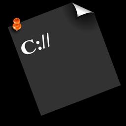 File MS-DOS Application Icon - Reality Icons - SoftIcons com