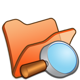 Folder Orange Explorer Icon 256x256 png