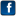 Social Network Facebook Icon 16x16 png