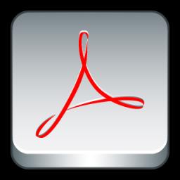 Adobe Acrobat Icon 256x256 png