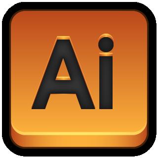 Adobe Illustrator Icon 320x320 png