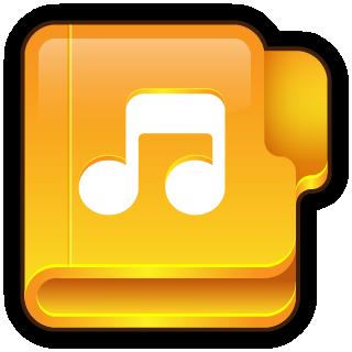 Folder Music Icon 320x320 png