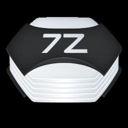 Archive 7z Icon Senary System Icons Softicons Com