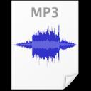 File Audio MP3 Icon