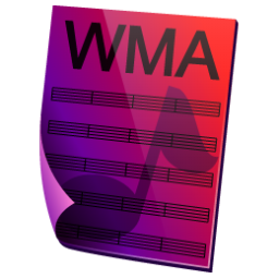 WMA Sound Icon 256x256 png