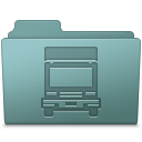Transmit Folder Willow Icon 128x128 png